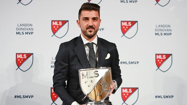 MVP da MLS, David Villa ressalta: 'Estou aqui para fazer o futebol crescer nesse país'