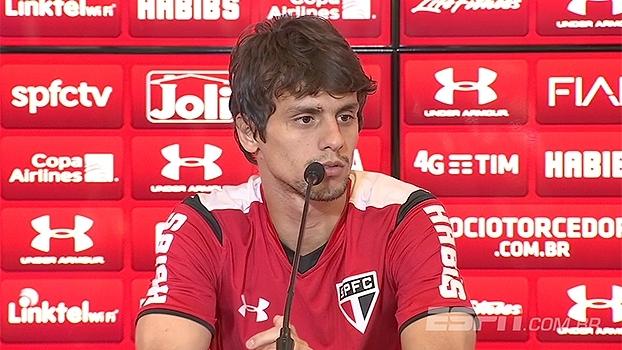 Rodrigo Caio comemora estar na pré-lista de Dunga e quer nova vitória contra Toluca