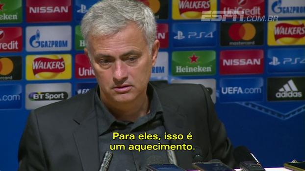 Mourinho diz que Champions só começa em fevereiro para os 'grandes' e coloca United em segundo nível