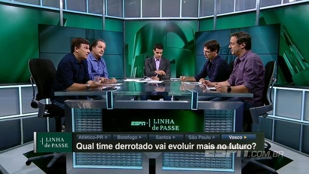 Qual time derrotado na estreia do Brasileiro vai evoluir mais no futuro? Veja o debate