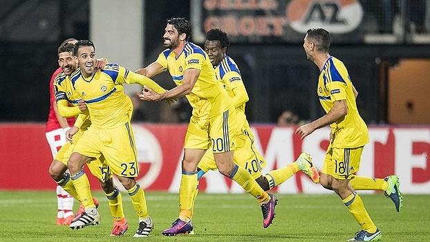 Com golaço no fim, Maccabi Tel Aviv vence AZ Alkmaar na Holanda
