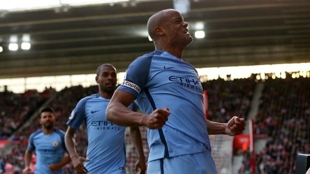 Assista aos gols da vitória do Manchester City sobre o Southampton por 3 a 0