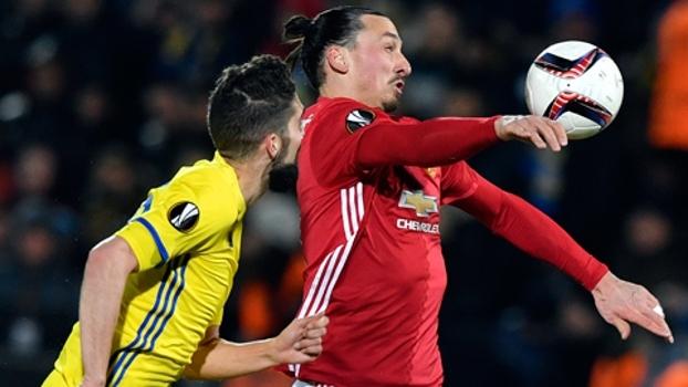 Europa League (oitavas - ida): Melhores momentos de Rostov 1 x 1 Manchester United
