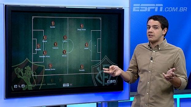 Rafa Oliveira destaca mudança de posicionamento de Diego Souza diante do Vitória