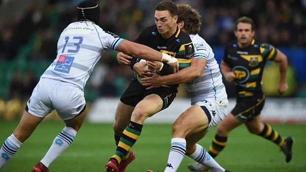 Northampton Saints vencem Montpellier por 16 a 14 no último lance no Europeu de Rugby