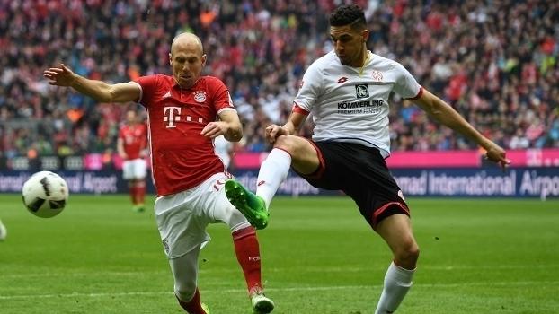 Assista aos gols do empate em 2 a 2 entre Bayern de Munique e Mainz