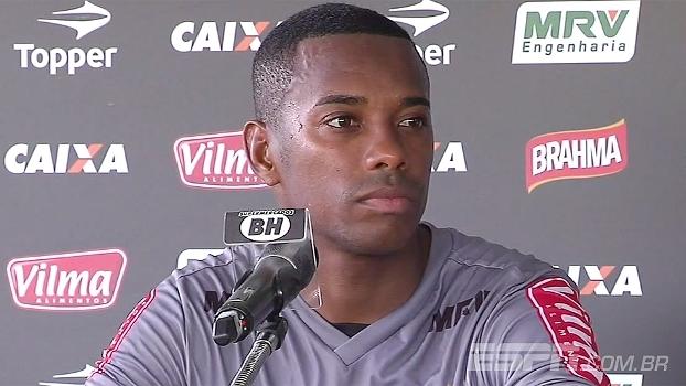 Robinho comenta especulações do Santos: 'Meu foco sempre foi aqui no Atlético-MG'