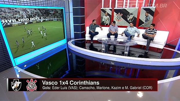 Bate-Bola analisa desempenho do Corinthians em goleada sobre Vasco pela Florida Cup