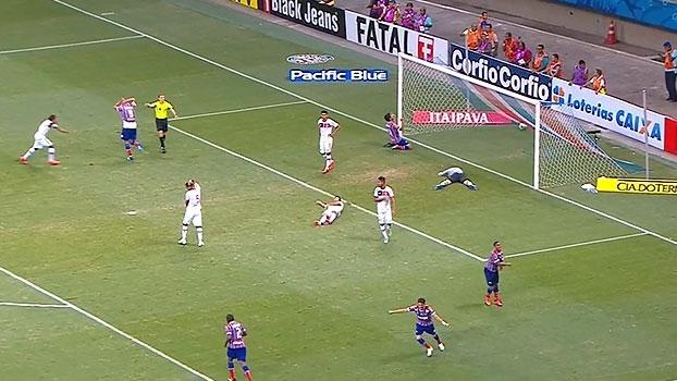 Série B: Gol de Bahia 1 x 0 Joinville
