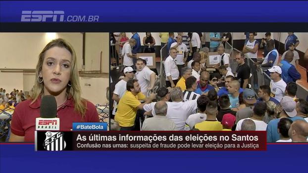 Urna 10, eleição interminável e mais; Gabi Moreira, de Santos, explica tudo que acontece na votação do clube