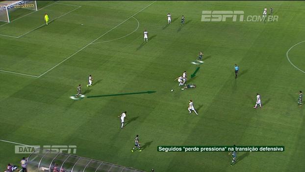 Perde pressiona: Calçade e DataESPN mostram como Palmeiras voltou a jogar com intensidade diante do Coritiba