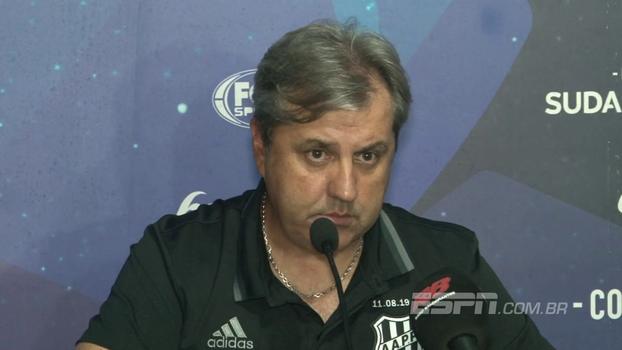 Kleina explica derrota para o Sport e lamenta falta de reação da Ponte, mas ainda acredita em classificação