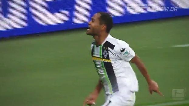 Quase desconhecido no Brasil, Raffael é ídolo da torcida do Borussia M'gladbach: 'Melhor que Neymar'