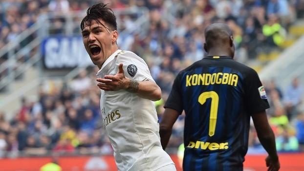 Italiano: Gols de Internazionale 2 x 2 Milan