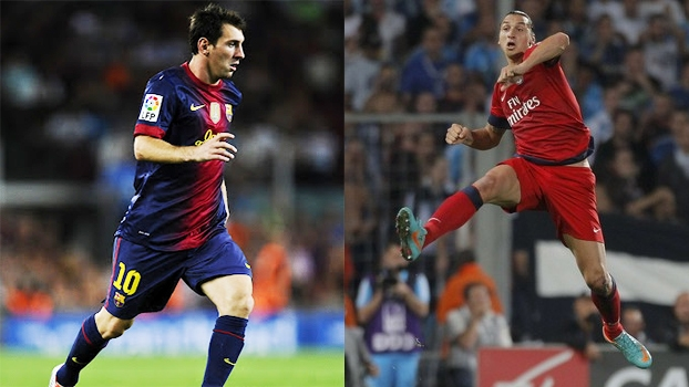 Messi, contra o Real, e Ibrahimovic são destaques entre os golaços do final de semana no exterior