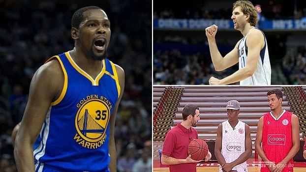 Durant fora, melhor estrangeiro de todos os tempos e convidados especiais no 'NBA Countdown Brasil'
