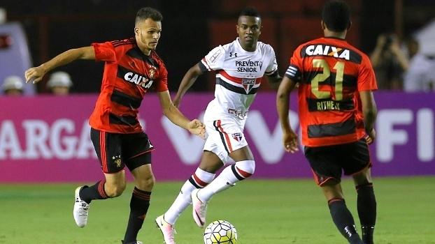 Brasileiro: Gols de Sport 1 x 1 São Paulo