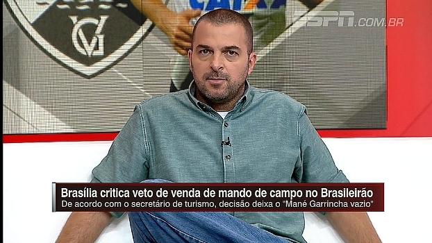 Zé Elias comenta ação contra proibição da venda do mando de campo: 'Transforma em benefício para pop