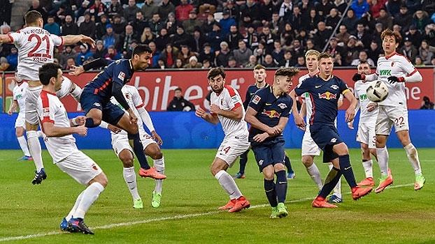 Bundesliga: Melhores momentos de Augsbug 2 x 2 RB Leipzig