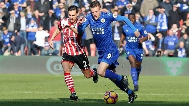 Veja os gols da vitória do Southampton sobre o Leicester por 3 a 0 pela Premier League