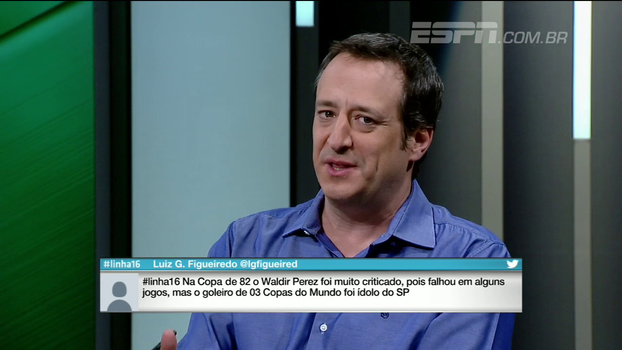 Gian: 'Não dá para imaginar que daqui a 6, 7 rodadas o São Paulo esteja brigando na zona de rebaixamento'