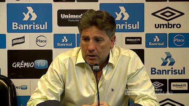 Renato Gaúcho minimiza entrevista de Mano: 'Queriam que ele falasse que seria 3 a 1 para o Grêmio?'