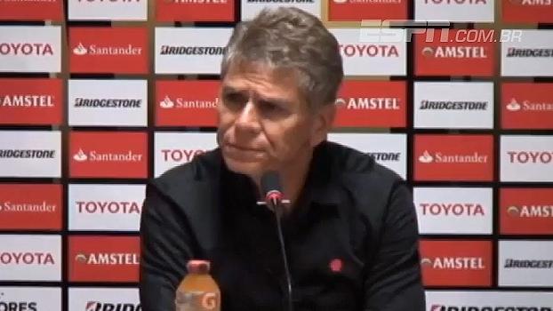 Autuori elogia postura da equipe e fala em 'casca' criada após vitórias na Libertadores