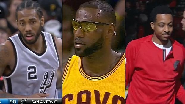Derrota de Cleveland e show de Kawhi e C. J. McCollum; veja o resumo da NBA deste sábado