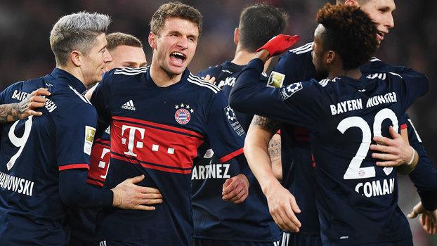 Veja o gol da vitória do Bayern de Munique sobre o Stuttgart por 1 a 0