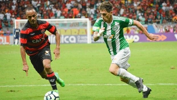 2eda40cb2fd16 Brasileiro  Gol de Vitória 0 x 1 Coritiba - ESPN