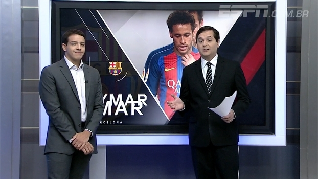 Rafa Oliveira vê 'tentativa desesperada' do Barcelona em contar com Neymar