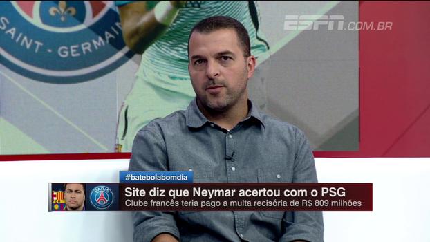 'Se eu fosse o Neymar, sairia para assumir posto de protagonista', diz Zé Elias sobre possível transferência para o PSG