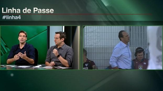 Arnaldo: 'Os 4 jogos do São Paulo no Brasileiro foram aceitáveis'