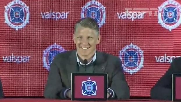 Assista a apresentação de Schweinsteiger no Chicago Fire