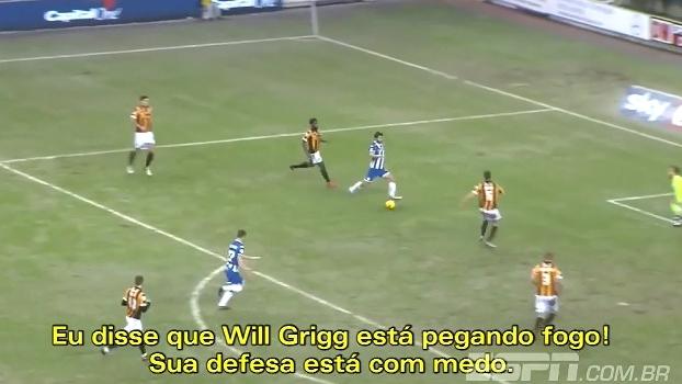 'FNM' mostra gols de Will Grigg ao som de seu hit, sucesso na Eurocopa