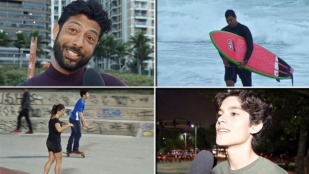 Surfistas e skatistas opinam sobre entrada dos esportes na Olimpíada de 2020