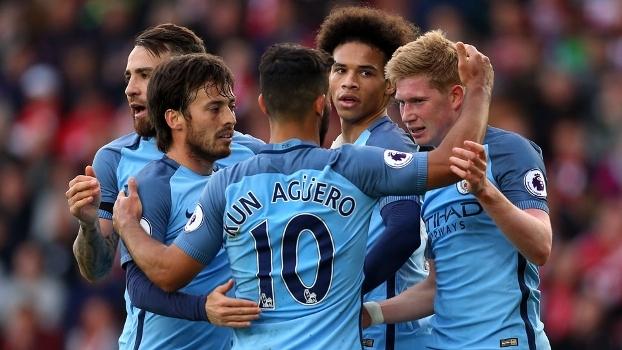 Assista aos melhores momentos da vitória do Manchester City sobre o Southampton por 3 a 0