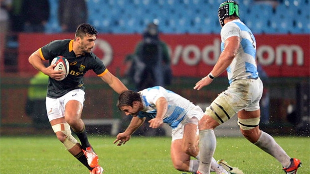Veja os melhores momentos de África do Sul 13 x 6 Argentina pelo Rugby Championship