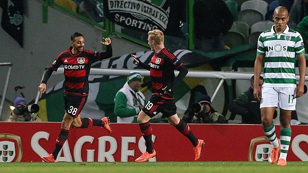 Liga Europa (16avos - ida): Melhores momentos de Sporting 0 x 1 Bayer Leverkusen