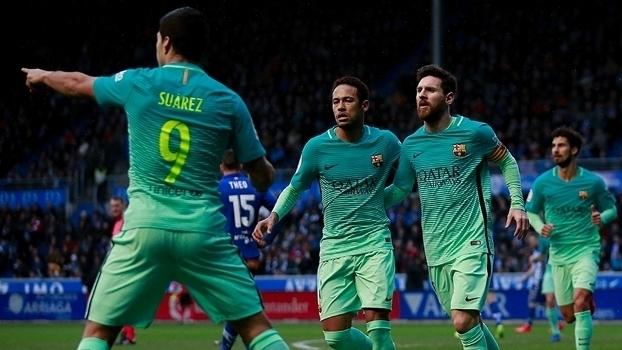 LaLiga: Gols de Alavés 0 x 6 Barcelona
