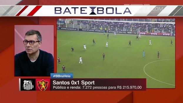 Calçade analisa o que deu errado taticamente para o Santos em derrota na Vila