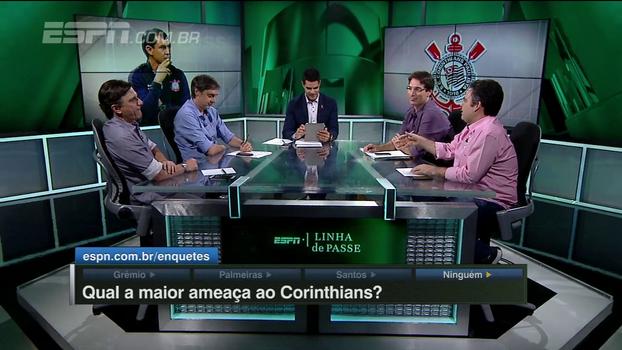 Para Bertozzi, nem vitória sobre o Palmeiras faria do Grêmio o principal perseguidor do Corinthians