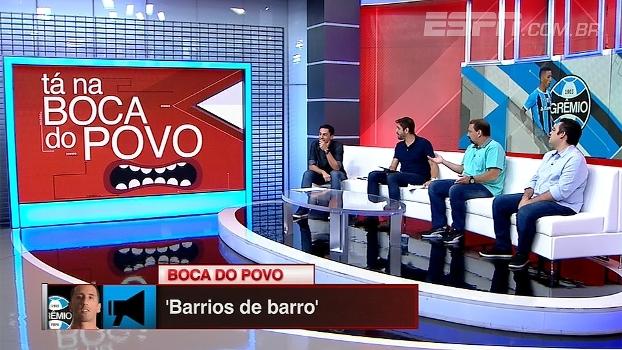 Agora no Grêmio, Lucas Barrios não consegue manter série de jogos