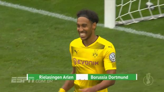 Copa da Alemanha: gols de Rielasingen 0 x 4 Borussia Dortmund