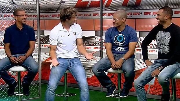 Lugano lembra de quando defendeu Ceni de mexicano na Libertadores: 'Tem mais títulos que todo México