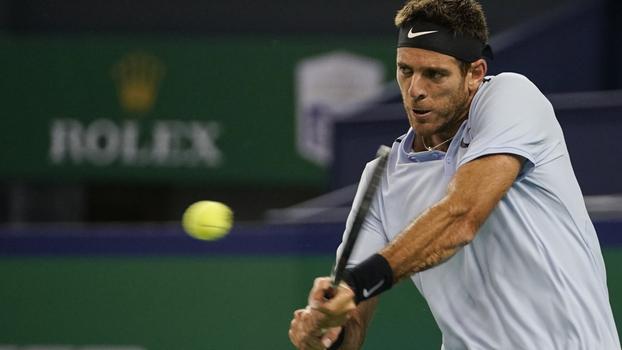 ATP 250 de Estocolmo: Lances de Juan Martín Del Potro 2 x 0 Yuichi Sugita