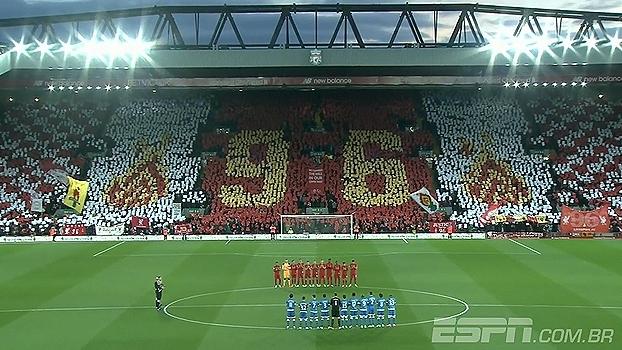 Liverpool faz homenagem às 96 vítimas fatais do 'Desastre de Hillsborough'
