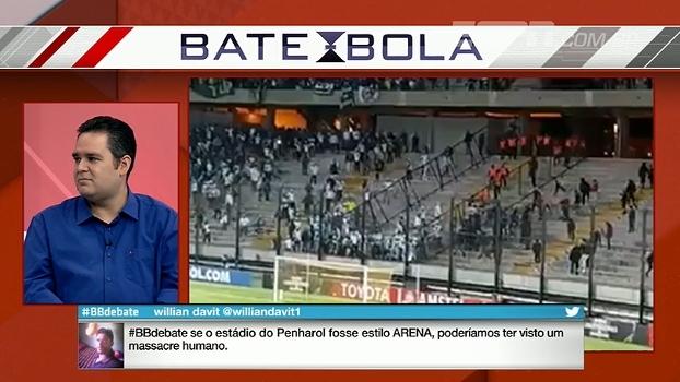 Bertozzi acredita que Felipe Melo pode ser punido, mas exige medidas contra Peñarol