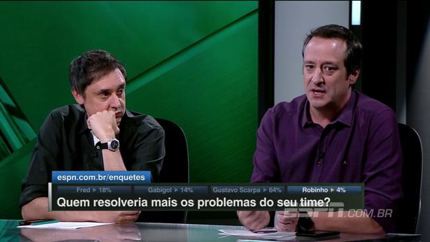 Gian diz que Fred seria uma 'aposta de menos risco' ao Flamengo: 'Tem poucos tiros mais certeiros que ele'