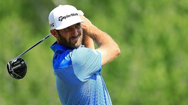 Primeiro do ranking mundial de golfe, Dustin Johnson vence Dell Technologies Math Play